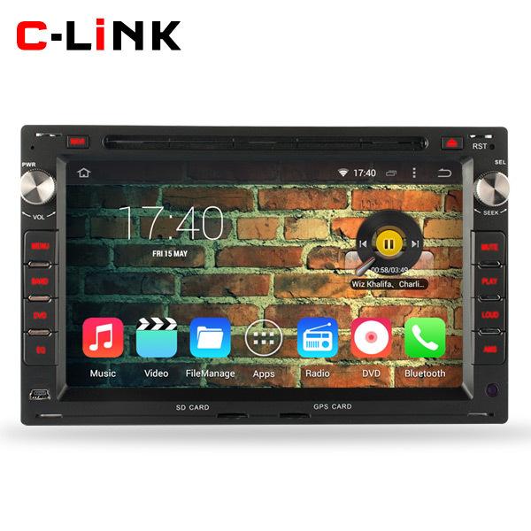 Quad Core 1.6GHz 1024*600 Android 4.4 Car PC Video Player For Volkswagen VW Jetta Polo Bora Golf 4 Passat B5 Radio WIFI TV 3G