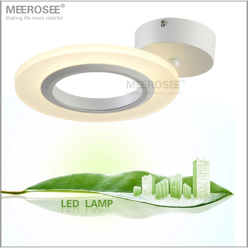 Small Fashion Acrylic LED Ceiing Light LED Surface Mounted Ceiling Lamp Reading Bedroom Application Light Fitting Free Shipping(China (Mainland))
