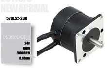57bl52-230 dc none brush motor 24v , 60w , 3000(China (Mainland))