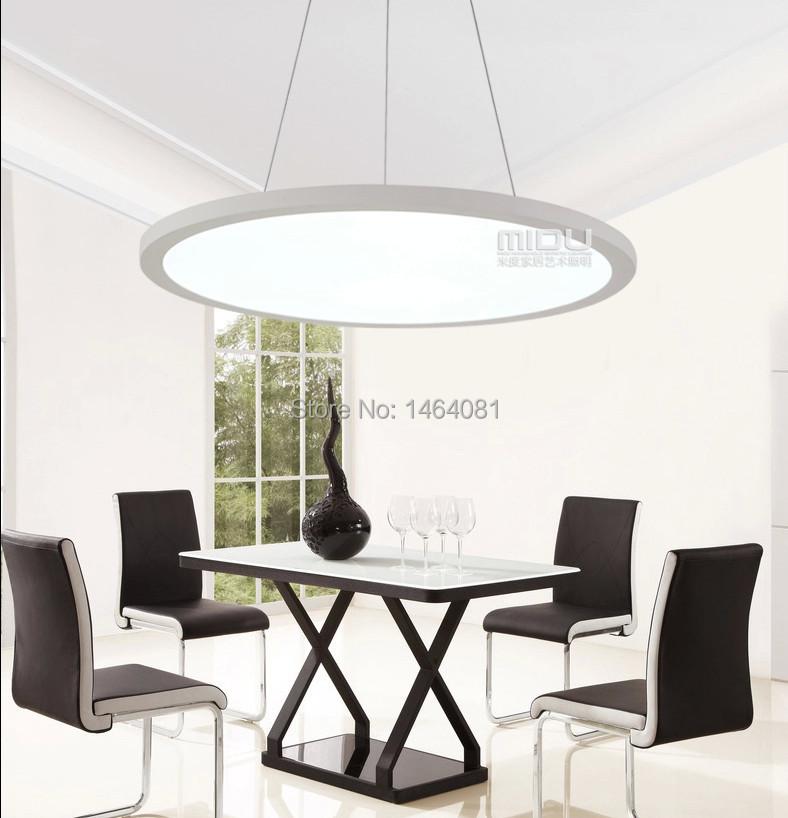 Simple Home Dining Room Hanging Chandelier LED Modern