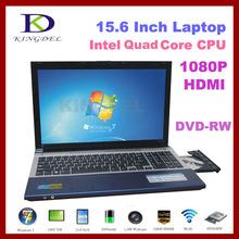 15.6'' notebook laptop Celeron J1900  quad core ,4GB RAM,500G HDD,DVD-RW,1080P HDMI,Bluetooth China(Hong Kong)