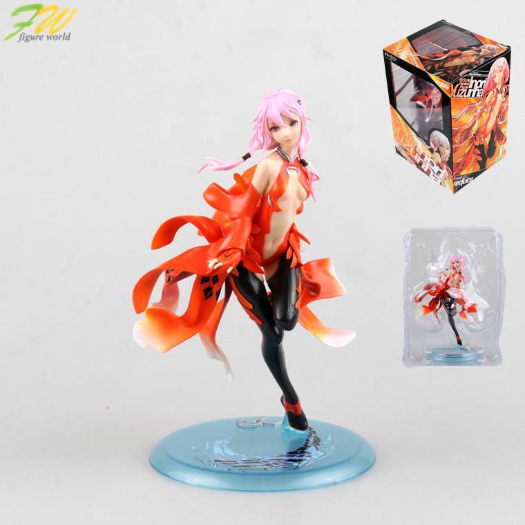 Action figure Guilty Crown GC Yuzuriha Inori Model cartoon doll PVC 19cm japanese figurine world anime 1601111(China (Mainland))