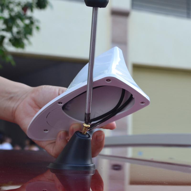SEAT IBIZA car antenna/car radio shark fin antenna signal shark fin antenna with 3M adhesive(China (Mainland))