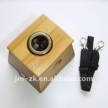Brand New Bamboo Moxa Box with 1 Hole, Moxa Accessories