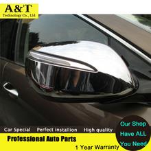Buy Chrome Body Rearview mirror cover Trims 2013 2014 Hyundai Santa Fe IX45 high chrome stickers trim car styling Car Ac for $35.36 in AliExpress store