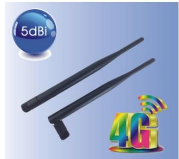 4GLTE wireless router SMA rubber antenna 5dBi 1600-2700MHz 2.4G wifi antenna(China (Mainland))