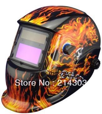 Welding Accessories Solar auto darkening welding mask/helmet welder protection helmet for MIG TIG ZX7 welding equipment(China (Mainland))