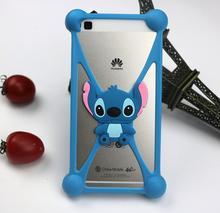3D Silicon Cartoon Minions Stitch Bear Doraemon Soft Phone Skin Cover Case for HTC One M7 M8 M9 M8 mini E8 Eye Desire 820 D820