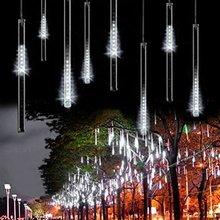 30CM 144LED100-240V Meteor Shower Rain Tubes LED Christmas Light Wedding Party Garden Xmas String Light Outdoor Holiday Lighting(China (Mainland))