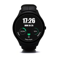 Android 4.4 Heart Rate Monitor Round Smart Watch Phone with Wifi bluetooth Dual Core 512 RAM 4GB ROM for Android and ISO NO.D5