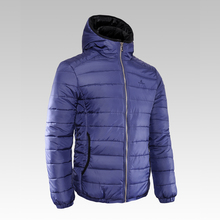 Nylon Winter men's sport thick cotton-padded jacket clasic with a hood solid color fashion outerwear all-match male parka M-5XL