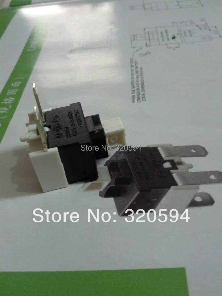 DYSON Vacuum Cleaner Hoover On/ Off Mains Switch Single Pole Push Button Switch(China (Mainland))