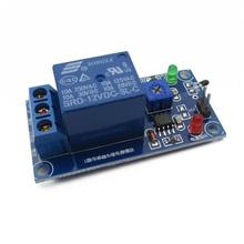 12V temperature thermistor sensor plus wet control switch relay module temperature detection module