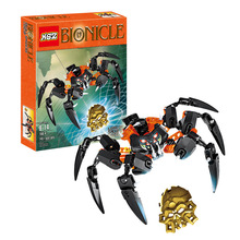 2015 new hot sale Bionicle load of skull spiders XZS 708-4 Minifigure Building Block Toys Action Figure Compatible With Lego W