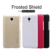 Meizu M2 Note Case Original Nillkin Frosted Shield Plastic Hard Case For Meizu Note M2 Phone Cases Back Cover+Screen Protector