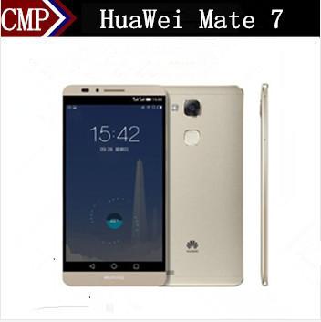 """Оригинал Huawei Ascend Mate 7 4G LTE Мобильного Телефона Кирин 925 Android 4.4 6 """"FHD 1920x1080 3 ГБ RAM 32 ГБ ROM 4000 мАч Отпечатков Пальцев"""