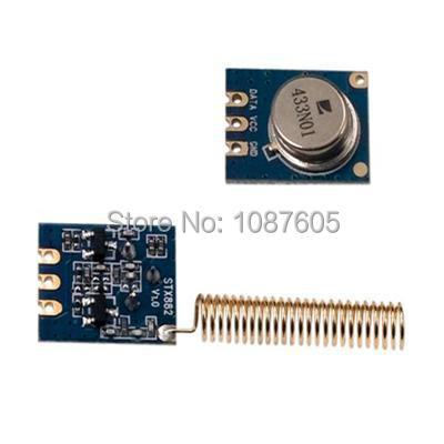 2pcs/lot 433MHz 315MHz Wireless ASK RF Transmitter Module - STX882(China (Mainland))
