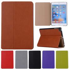 Book Leather Case for iPad Mini 1 2 3 Tablets Accessories Business Cover Fundas for apple ipad mini2 mini 3 Stand Fashion Retro(China (Mainland))