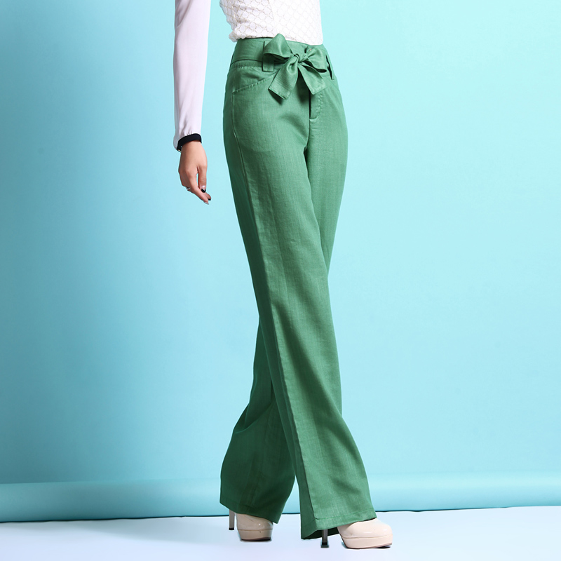 womens wide leg linen pants - Pi Pants