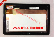 Original for Asus EeePad tablet TF300 10.1 tablet lcd calendar hsd101pww1 hsd101pww1-a00 touch screen+LCD SCREEN panel lcd combo