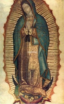 Hot Sale Oil Painting On Canvas Artist Wall Decor Reproductions Our Lady Of Guadalupe Buddha Religion Artwork Picture