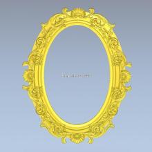3d model design exclusive oval frame relief cnc machine STL file format Frame_44 - Professional 3D models Supplier Co,.Ltd store