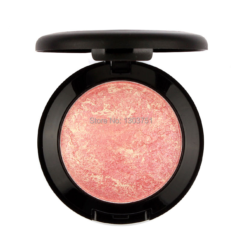 1pcs Brand Makeup Base Maquiagem Baked Blush Palette Baked Cheek Color Blusher Blush Maquiagens Cosmetics(China (Mainland))