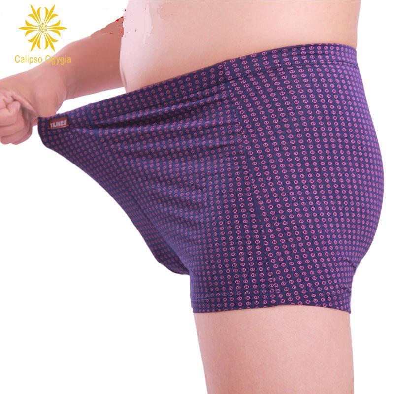 Hot! 3 Pcs Mens Boxer Underwear Shorts Brand Boxers Hombre Panties Under Short Printed Mulit 3 Pieces Lot Plus Size XXL - 7XL(China (Mainland))