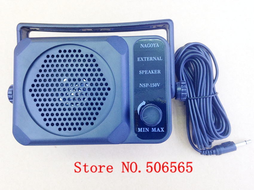 External speaker microphone NAGOYA NSP-150 for KENWOOD, YAESU,for ICOM car FM radios transceiver 3.5mm(China (Mainland))