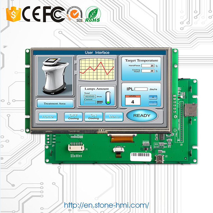 embedded / open frame 10.1 LCD display module GUI solution with controller and software(China (Mainland))