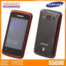 S5690 Original phone Samsung S5690 waterproof cell phones WIFI GPS 3 15MP Camera Cheap android Smartphone