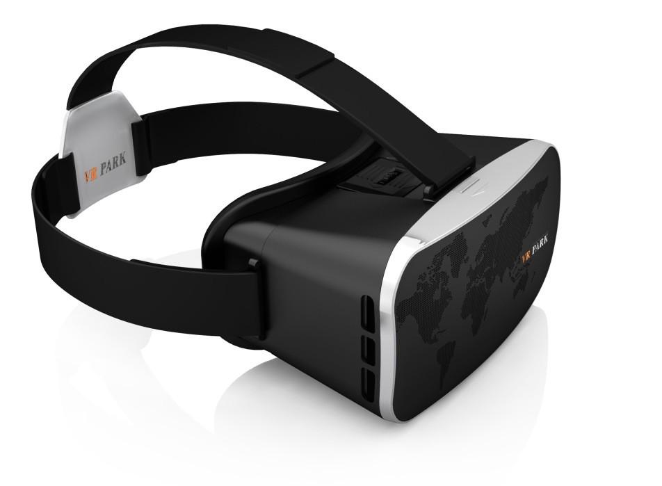 ถูก อัพเกรดความเป็นจริงเสมือนสีดำ3D VRแว่นตาชุดหูฟังสำหรับ4-6นิ้วAndroidและIOSมาร์ทโฟน