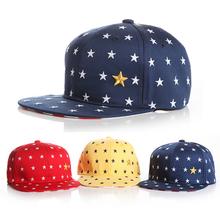 Lovely !! New 2015 Fashion Five Stars Unisex Child Hat Baby Baseball Caps For Boy Cap Girl Hats Baby Snapback Hats Drop Shipping(China (Mainland))