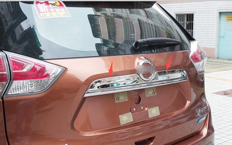 Rear Door Trunk Lid Cover TRIM   for Nissan  Rogue X-TRAIL 2014 2015