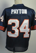SexeMara Jim McMahon WALTER PAYTON Gale Sayers Mike Singletary Dick Butkus William Perry Men's Throwback Jersey Size 48-56(China (Mainland))