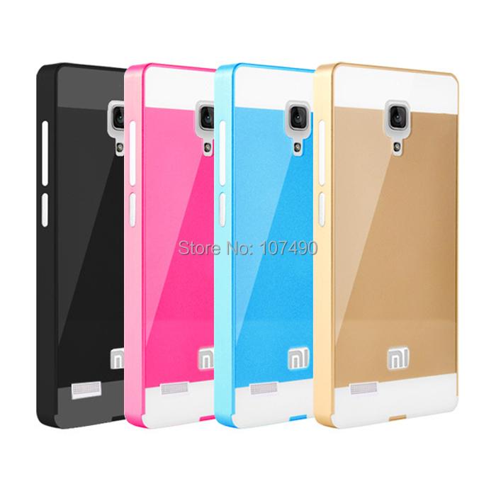Buy case xiaomi redmi note hongmi aluminum metal frame for Mirror xiaomi to pc