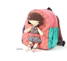 Free Shipping Children school bag,kid's backpack,Girl Bags,Children Small Bag,Baby Toddler Schoolbag,Kids Kindergarten Bags(China (Mainland))