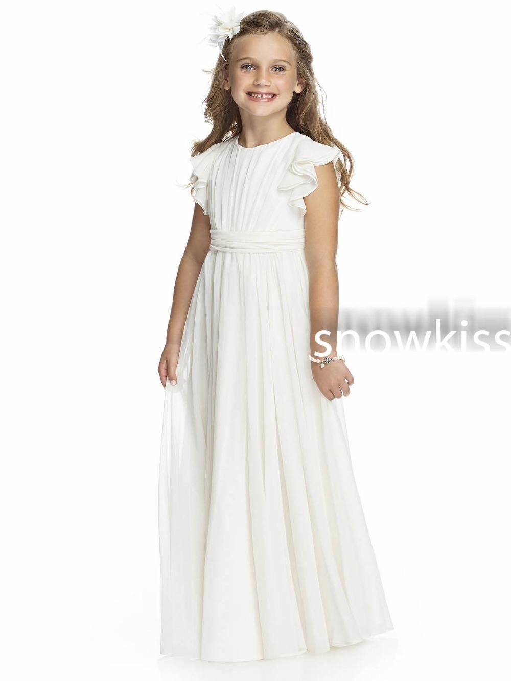 Girls white junior bridesmaid dresses fashion dresses girls white junior bridesmaid dresses ombrellifo Images