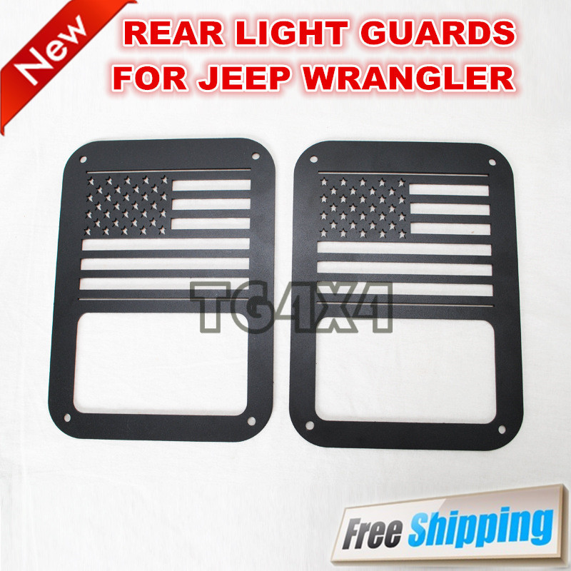 taillight guards for jeep wrangler jk tail lamp covers tail light. Black Bedroom Furniture Sets. Home Design Ideas