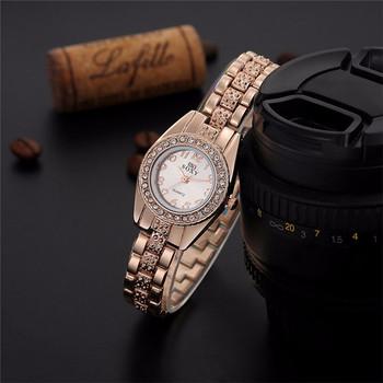 Sanwony New Women's Dress Watch Stainless Steel Band Fashion Analog Quartz Bracelet Watches Freeshipping