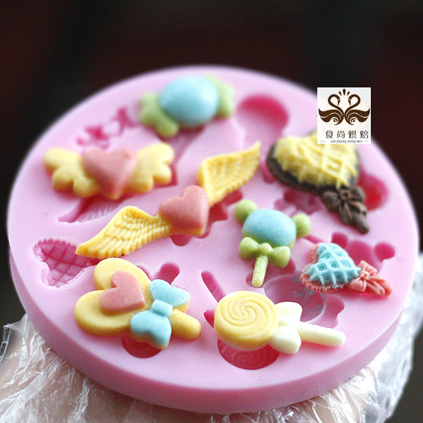 Fpfa142 sugar lace sugar mould silica gel lollygags high quality sugar(China (Mainland))