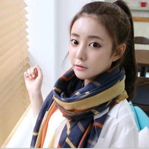 Minimum order $ 5 Silk Square Scarf Women Fashion Brand High Quality Cheap Imitated Silk Satin Scarves Polyester Shawl(China (Mainland))