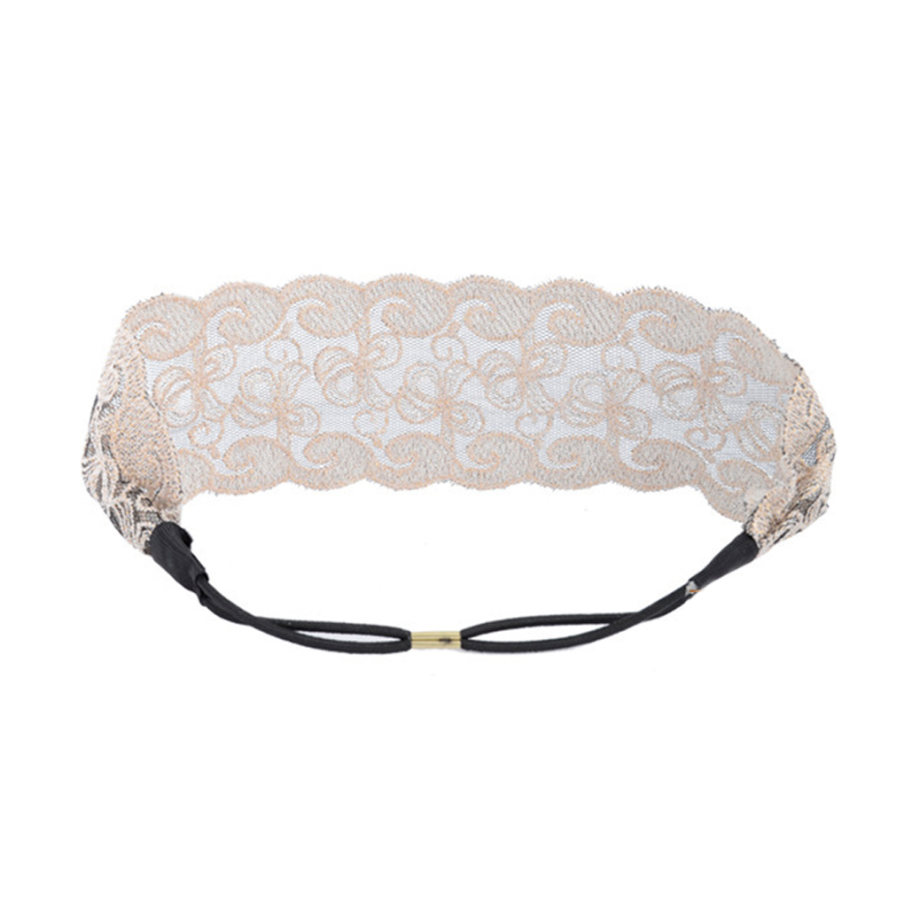 Sexy Women Lace Flower Headbands Girls Elastic Headband Head Band Hair Accessories Headwear Headwraps(China (Mainland))