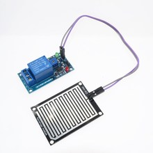 Buy Rain water sensor module + DC 5V Relay Control Module Rain Sensor Water Raindrops Detection Module Arduino robot kit 5PCS for $28.00 in AliExpress store