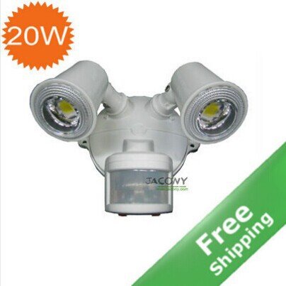 20 Watt PIR Sensor LED spot light + 85V-280V input IP54 Outdoor using - HANGZHOU JACONY TECHNOLOGY CO.,LTD store