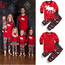 Buy 2-7 Years Children Boys Girls Christmas Pajamas Sets Childen Clothing Cotton Kids Long Sleeve Santa Pyjamas Baby Sleepwear for $7.20 in AliExpress store
