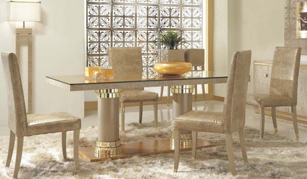 Shop popular italian dining table from china aliexpress for Italian dining room furniture