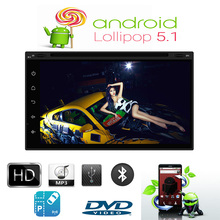 Buy 7 inch Qual Core Android 5.1 Double Din Stereo GPS Navigation Radio Bluetooth Wifi SWC charder DVD player Nissan for $208.98 in AliExpress store