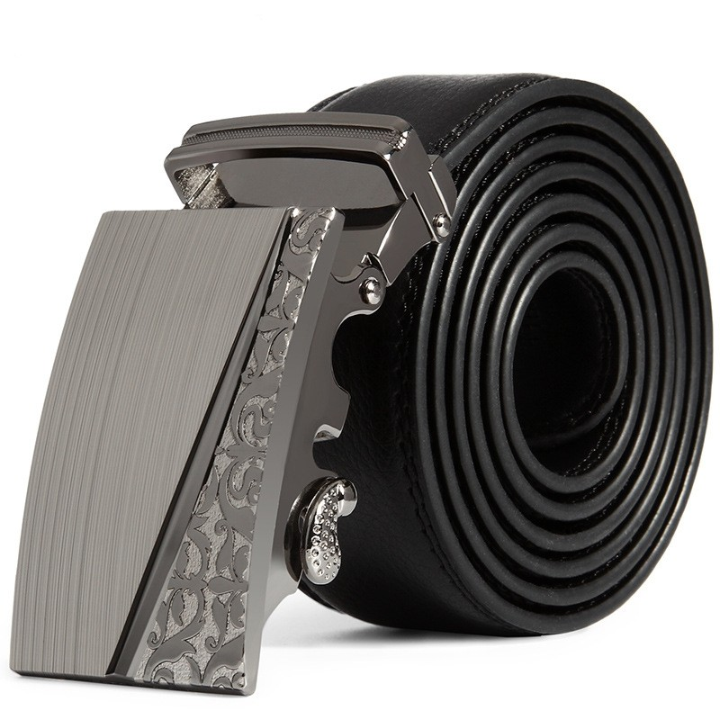 fashion design 2016 leather strap male automatic buckle belts for men authentic trend men's belts ceinture cinto masculino(China (Mainland))