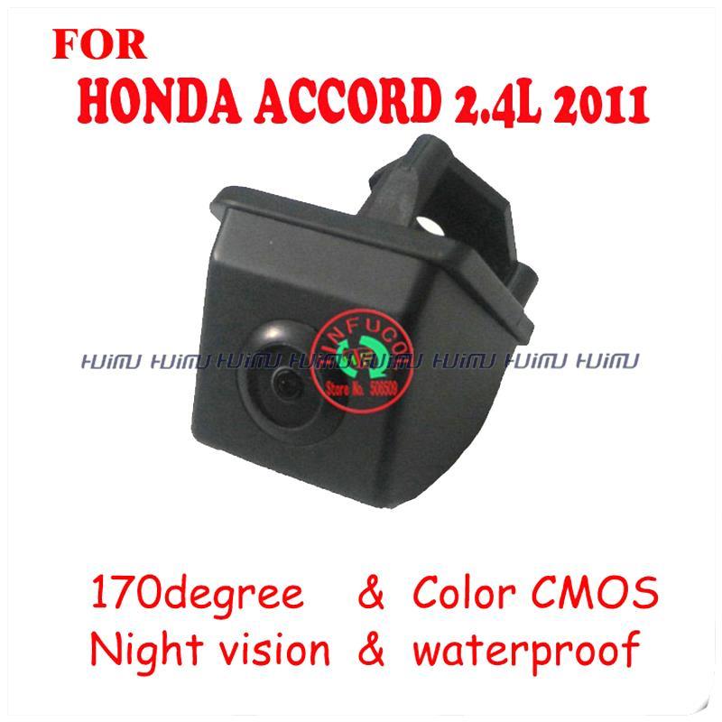 CCD HD night vision rearview camera rear view camer rear monitor reversing camer for 2011 HONDA ACCORD night vision(China (Mainland))